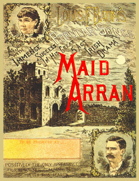 Original Sheet Music for THE MAID OF ARRAN