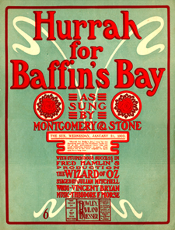 Baffin's Bay -- Sheet Music
