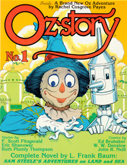 Oz-story #1 Cover