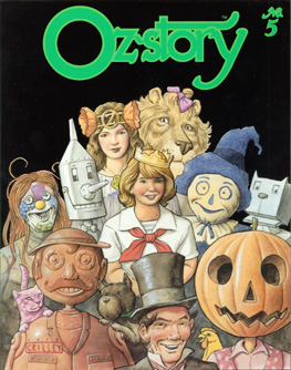 Oz-story #5 Cover