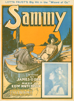 Sammy -- Sheet Music